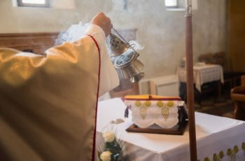 what is the significance of incense at a catholic funeral