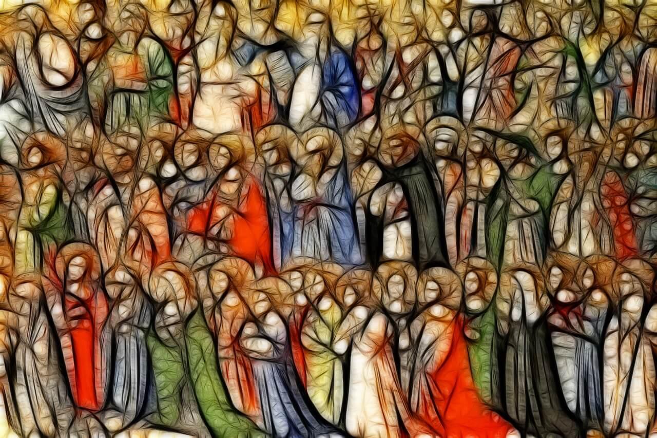 why do Catholics worship saints